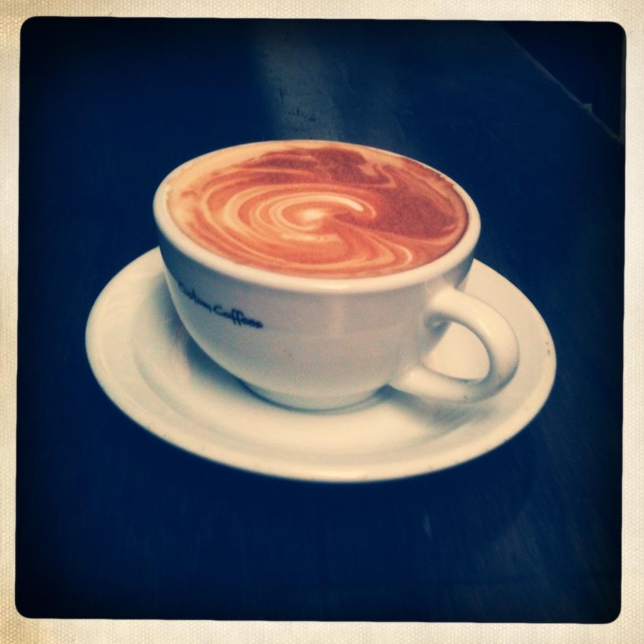 Coffee at The Dispensary Enoteca