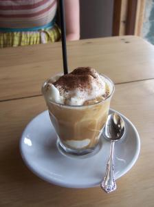 Iced Coffee from Bells Belles in Castlemaine courtesy of Great Eats in the Goldfields.