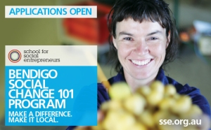 Bendigo Social Change 101 - Applications open